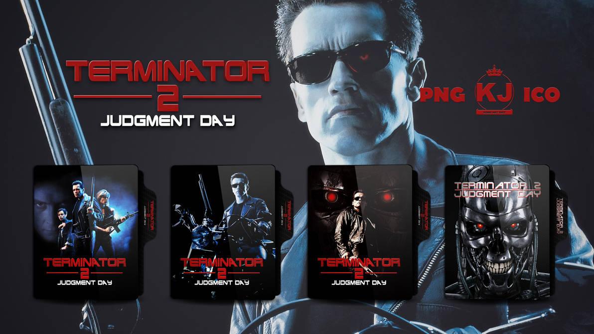 Terminator 2 Judgment Day 1991 Folder Icon By Kingjoe93 On Deviantart