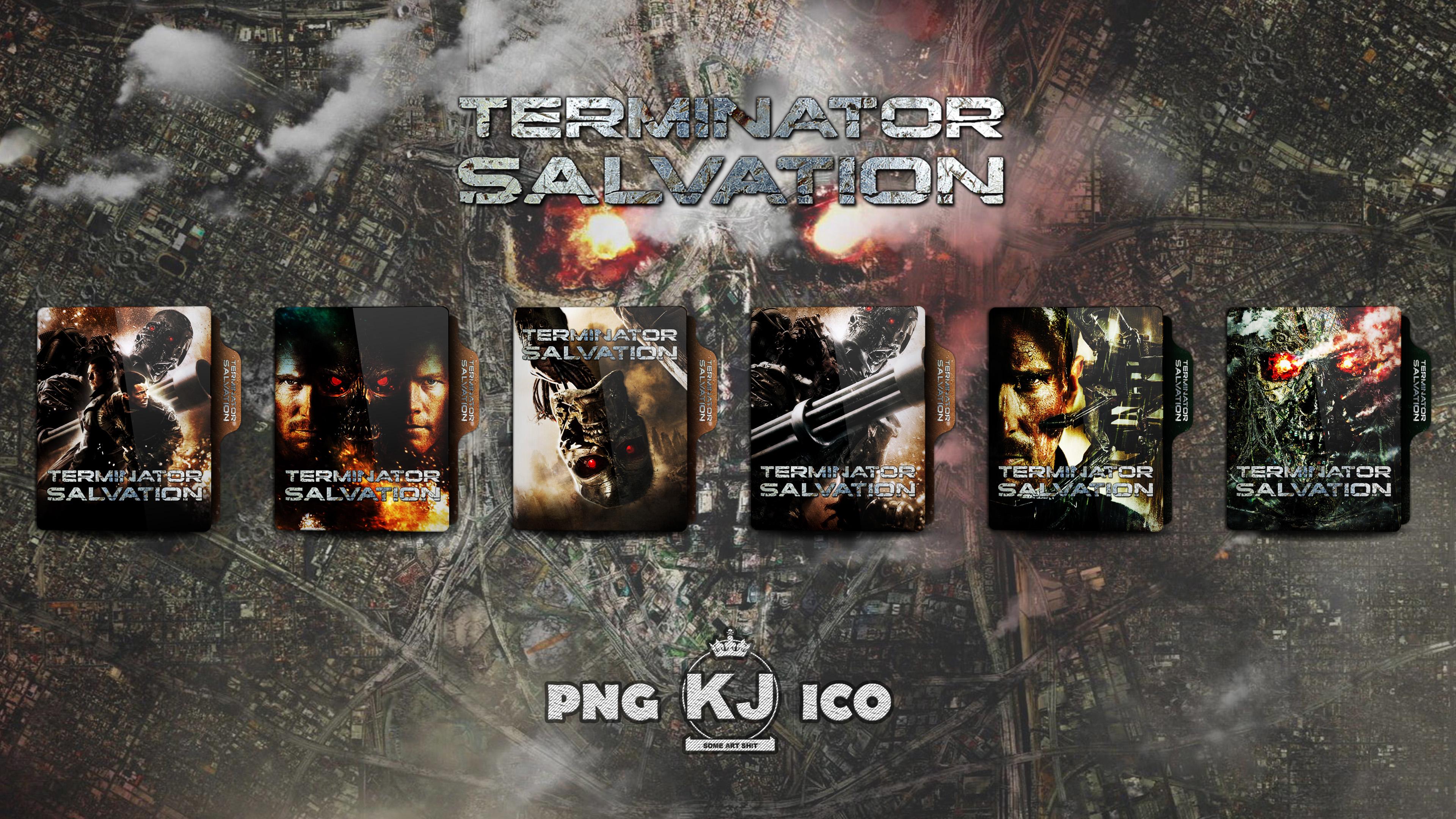 Terminator Salvation 2009 Folder Icon By Kingjoe93 On Deviantart