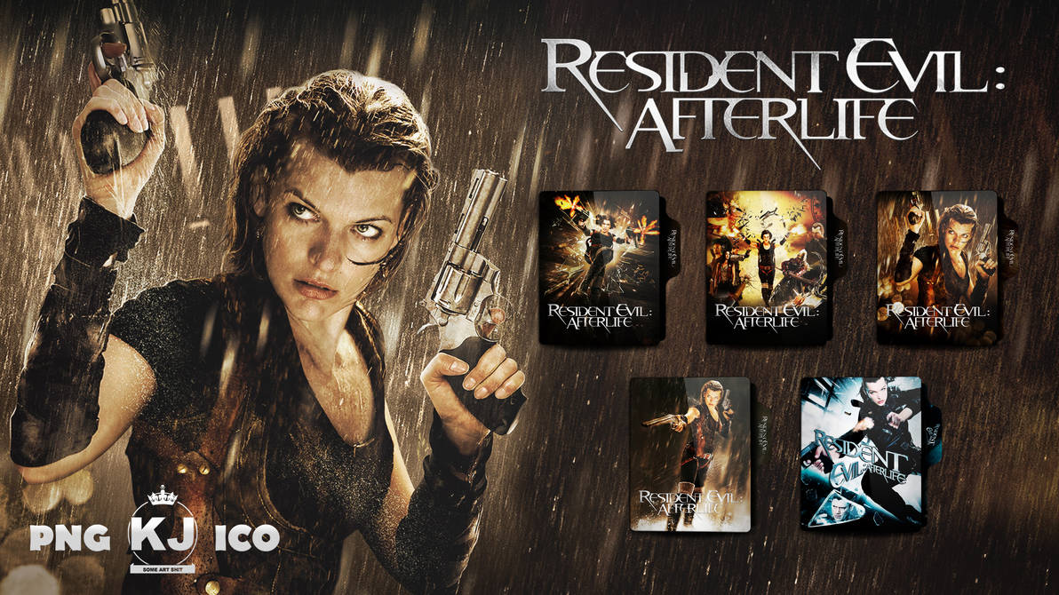 Resident Evil Afterlife 2010 Folder Icon By Kingjoe93 On Deviantart
