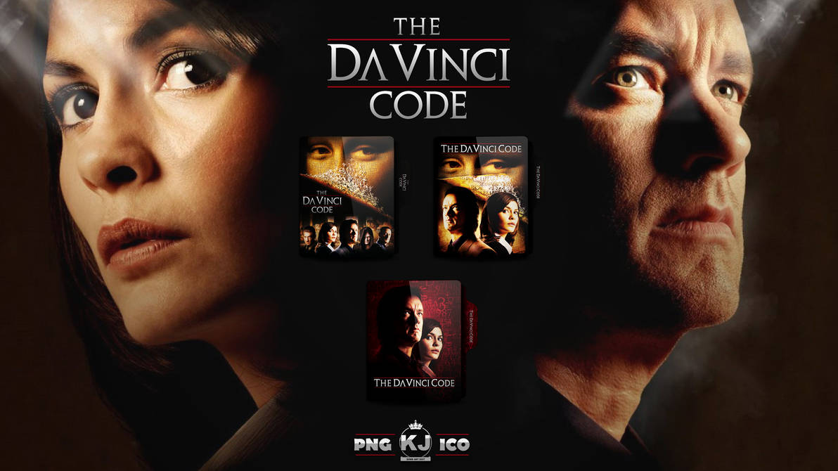 The Da Vinci Code 2006 Folder Icon By Kingjoe93 On Deviantart