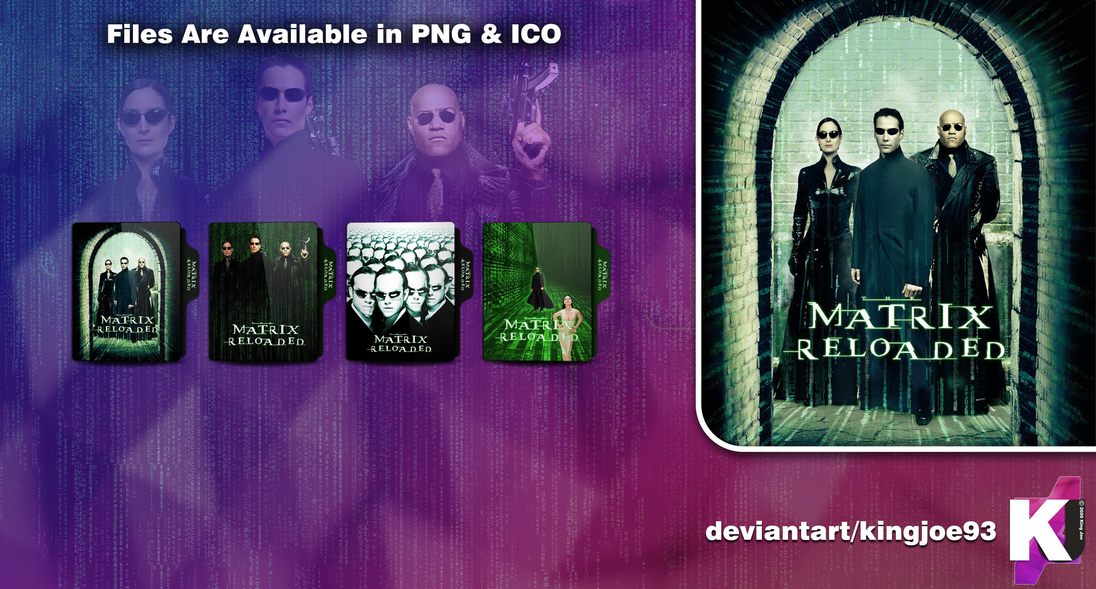 The Matrix Reloaded 2003 By Kingjoe93 On Deviantart