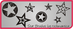 Star Brushes by rockmantica