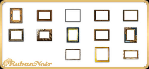 ImagePack 03 - decor Frame by Lady-Himiko