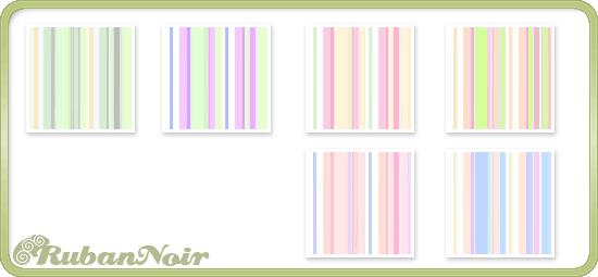 Pastel Rainbow Stripes Pattern by Lady-Himiko