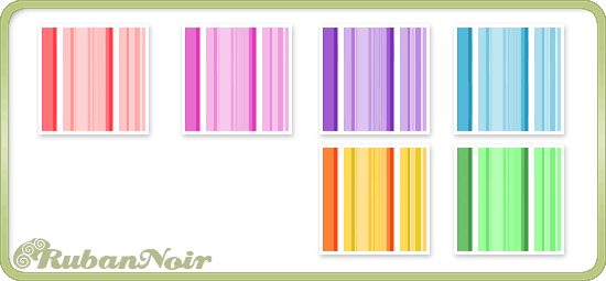 Rainbow Stripes Pattern by Lady-Himiko