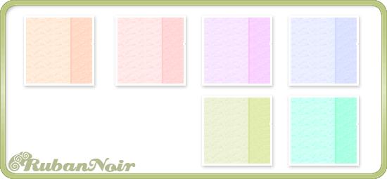 Pastel Double Stripes Pattern by Lady-Himiko