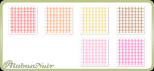 Warm Small Checks Pattern by Lady-Himiko