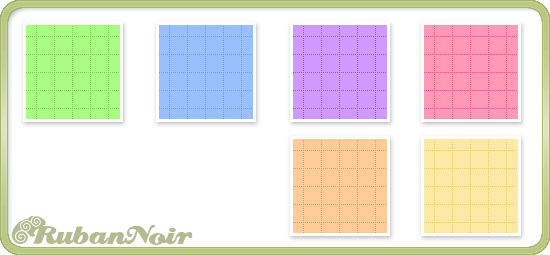 Bright Dotted Cubes Pattern by Lady-Himiko