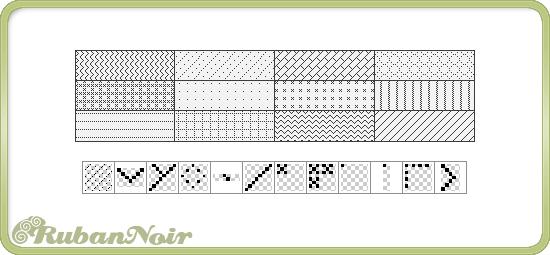 Pixel Pattern Set by Lady-Himiko