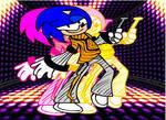 Sonic Dances September by AlekidThunder