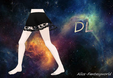 MMD Skirt lace by Alice-Fantasyworld