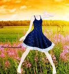 MMD Summer Victorian dress by Alice-Fantasyworld