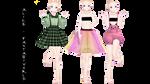 [MMD] Lolita Style Pack DL by Alice-Fantasyworld