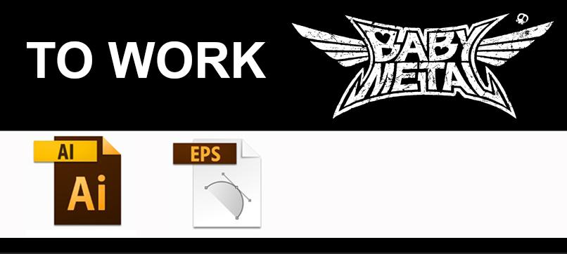 Babymetal logo AI and EPS by Kamovator