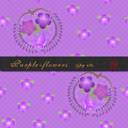 Purple_flowers by Shishi2011