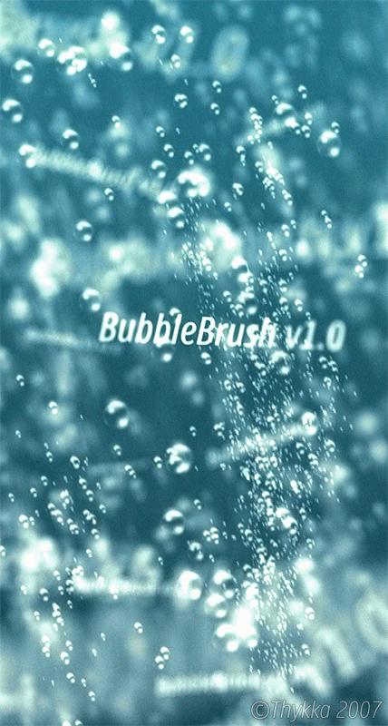 BubbleBrush v1.0 by Thykka