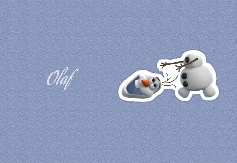 Wallpaper Olaf Frozen By Poetikaa On Deviantart