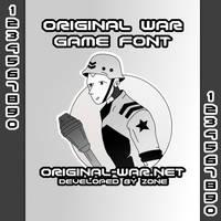 Original War - Font