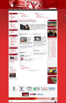 Web Layouts: Gwarek Zabrze - 2011.04.01