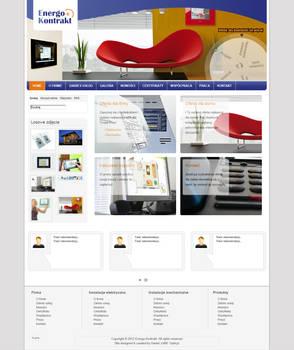 Web Layouts: Energokontrakt - 2013.01.30
