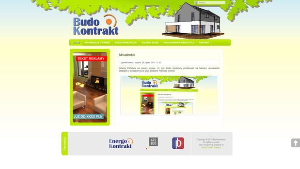 Web Layouts: Budokontrakt - 2015.02.21