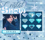 Crystal Snow Styles