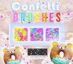Confetti Brushes