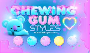 CHEWING GUM STYLES | Thesmileofgrey