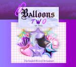 Balloons Two | PNGS | Thesmileofgrey