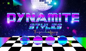 DYYNAMITE STYLES | THESMILEOFGREY