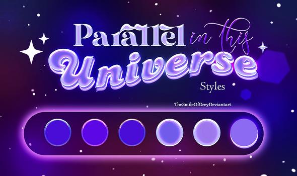 parallel in this universe STYLES Thesmileofgrey