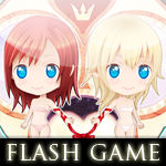 Flash game Kairi and Namine