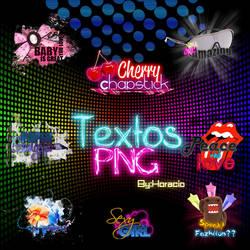Text PNG Pack 1 by fazhiionztar