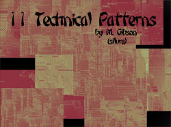 Technical Patterns Pack by silvaran
