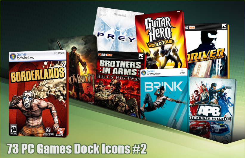 73 PC Games Dock Icons 2