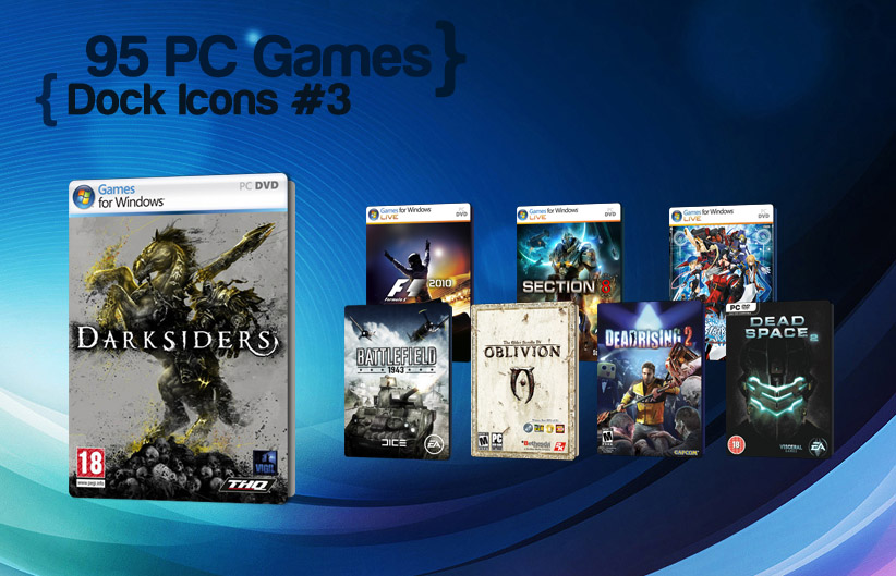 95 PC Games Dock Icons 3