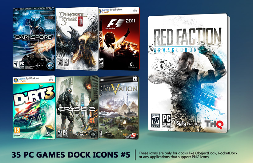 35 PC Games Dock Icons 5