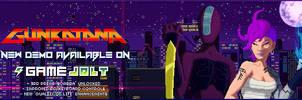 Gunkatana: Playable Demo on Gamejolt - Banner