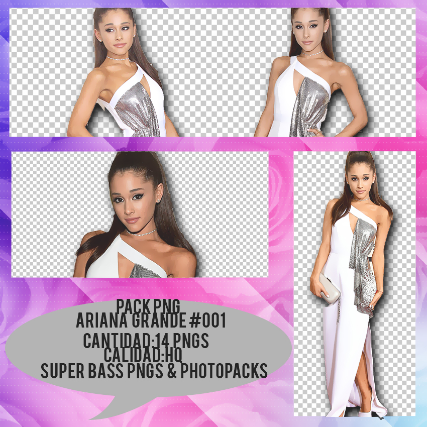 Download Ariana Grande Thank You: PACK PNG ARIANA GRANDE #004 By SuperBassPngs2 On DeviantArt