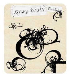 Grunge Swirls by tiffcali06