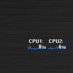 Dual CPU Meter by airu0423