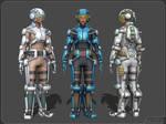 Women's Exoskeleton by aleksiszet