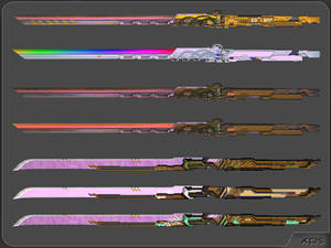 Pack of swords v.2 by aleksiszet
