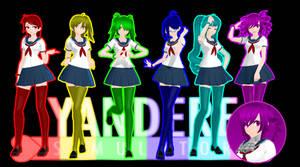//UPDATE// TDA Rainbow Six Girls + DL! by OzzWalcito