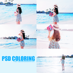 [PSD Coloring] Sunset and sunrise_the magic