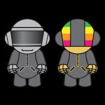 Daft Punk Dolls by adicktuz