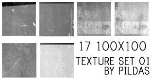 texture set 01 by pildas