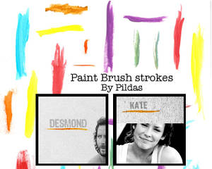 Paint Brush Strokes