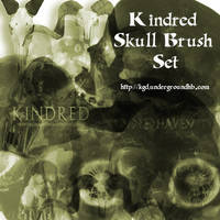 Kindred Skull Brush Set by Kindred-Jerinof
