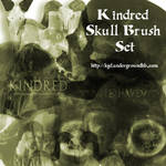 Kindred Skull Brush Set